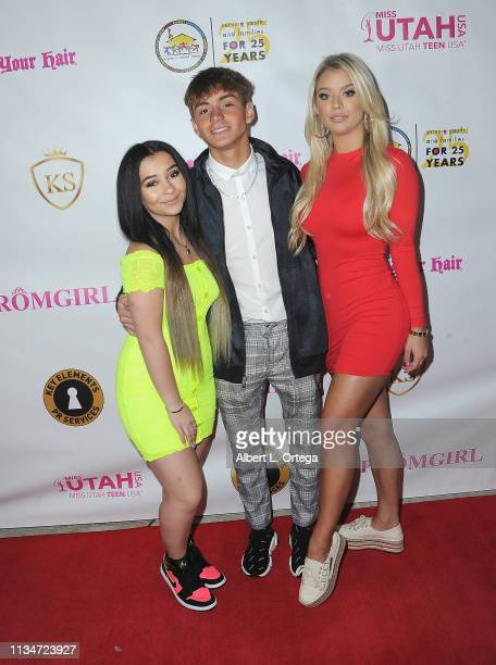 Dani Cohn Mikey Tua and Kaylyn Slevin attend Sneaker Ball presented by Kaylyn Slevin to Benefit A Place Called Home's Cinderella and Prince Charming...