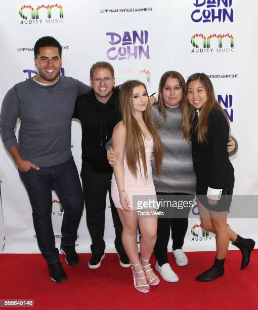 Dani Cohn's Single Release Party for #FixYourHeart on December 8 2017 in Burbank California