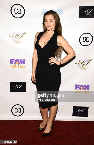 Dani Daniels attends Dinner With Dani Launch Party at The Mezzanine on November 2, 2018 in New York City.
