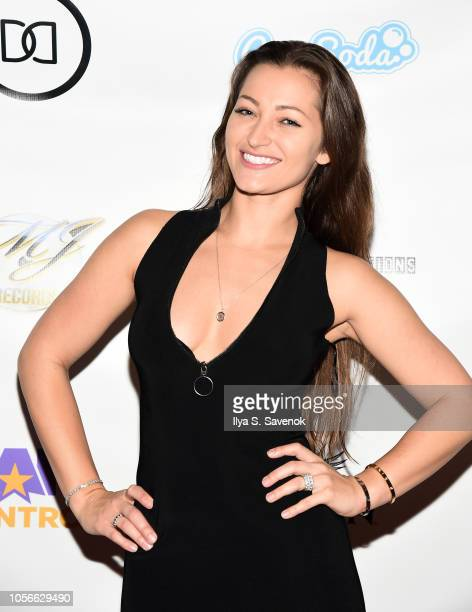 Dani Daniels attends Dinner With Dani Launch Party at The Mezzanine on November 2 2018 in New York City