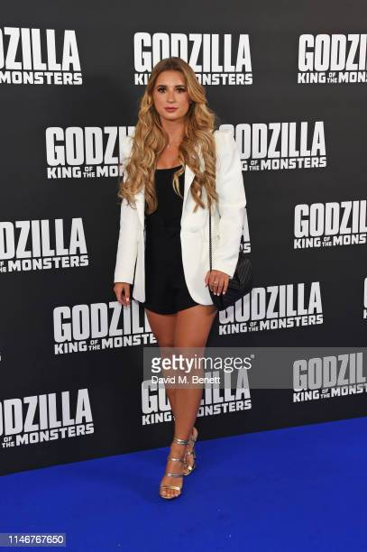 Dani Dyer attends a special screening of Godzilla II King Of The Monsters at Cineworld Leicester Square on May 28 2019 in London England