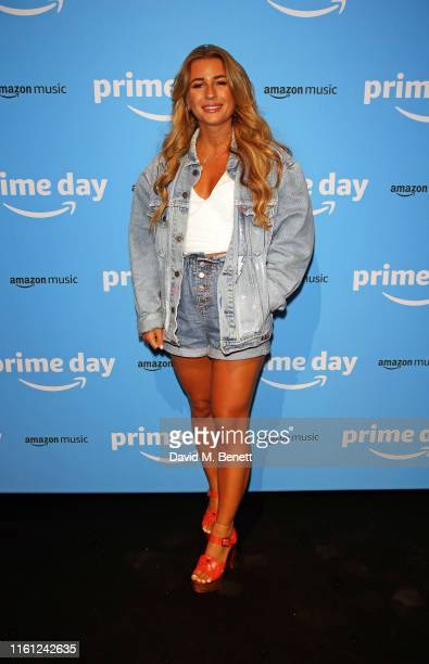 Dani Dyer attends Amazon's Prime Day Party To kick off Prime Day 2019 celebrations Rita Ora and Ray BLK performed at Amazon's Prime Day Party...