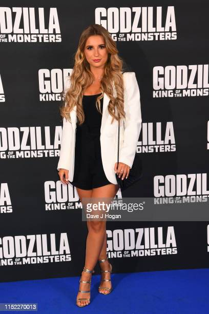 Dani Dyer attends GODZILLA II King of the Monsters at Cineworld Leicester Square on May 28 2019 in London England