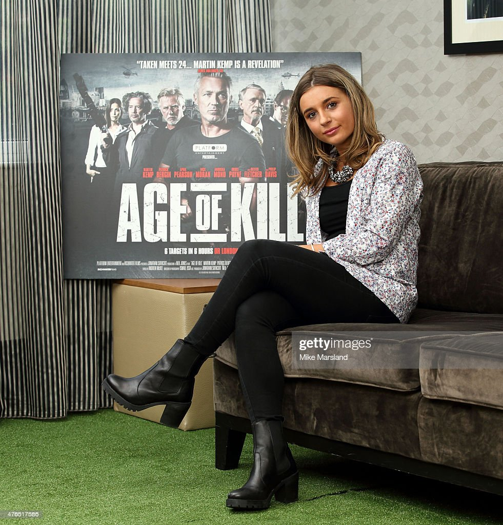 """Dani Dyer Attends Photocall For """"Age Of Kill"""" : News Photo"""
