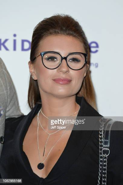 Dani Dyer attends the Specsavers 'Spectacle Wearer Of The Year' at 8 Northumberland Avenue on October 24 2018 in London United Kingdom