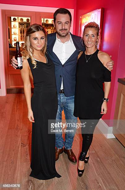 Dani Dyer Danny Dayer and Joanne Mas attend a Special Screening of We Still Kill The Old Way at the Ham Yard Hotel on September 29 2014 in London...