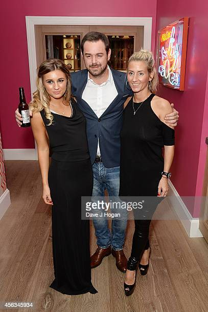 Dani Dyer Danny Dyer and Joanne Mas attend a photocall for We Still Kill The Old Way at Ham Yard Hotel on September 29 2014 in London England