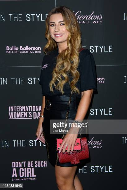 Dani Dyer during a photcall for 'In The Style' at Ballie Ballerson on March 07 2019 in London England