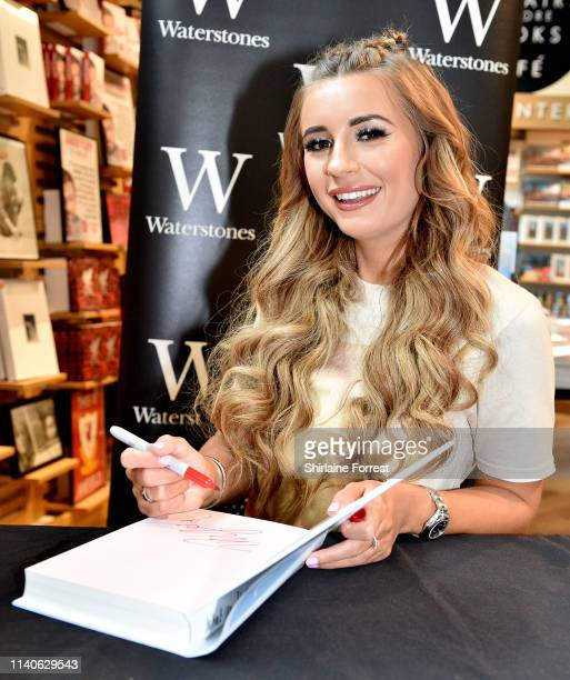 Dani Dyer promotes her first book What Would Dani Do during book tour at Waterstones on April 05 2019 in Liverpool England