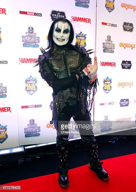 Dani Filth of Cradel of FIlth attends the Metal Hammer Golden Gods awards on June 15 2015 in London England