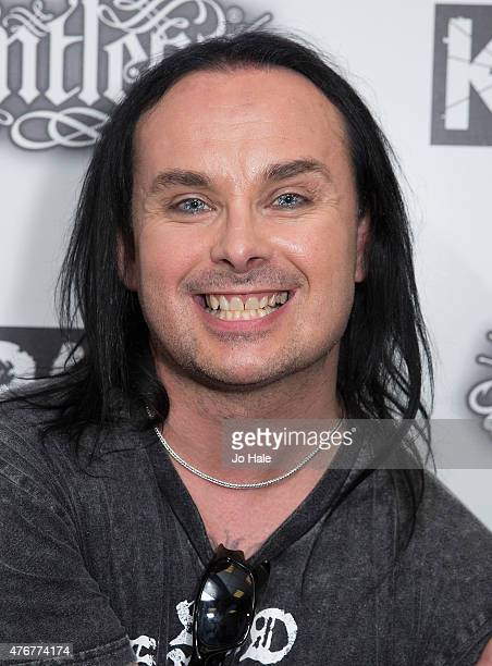 Dani Filth of Cradle of Filth attends the Relentless Energy Drink Kerrang Awards at the Troxy on June 11 2015 in London England