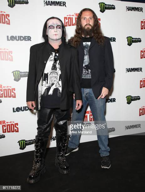 Dani Filth of Cradle of Flith attends the Metal Hammer Golden God Awards at Indigo at The O2 Arena on June 11 2018 in London England