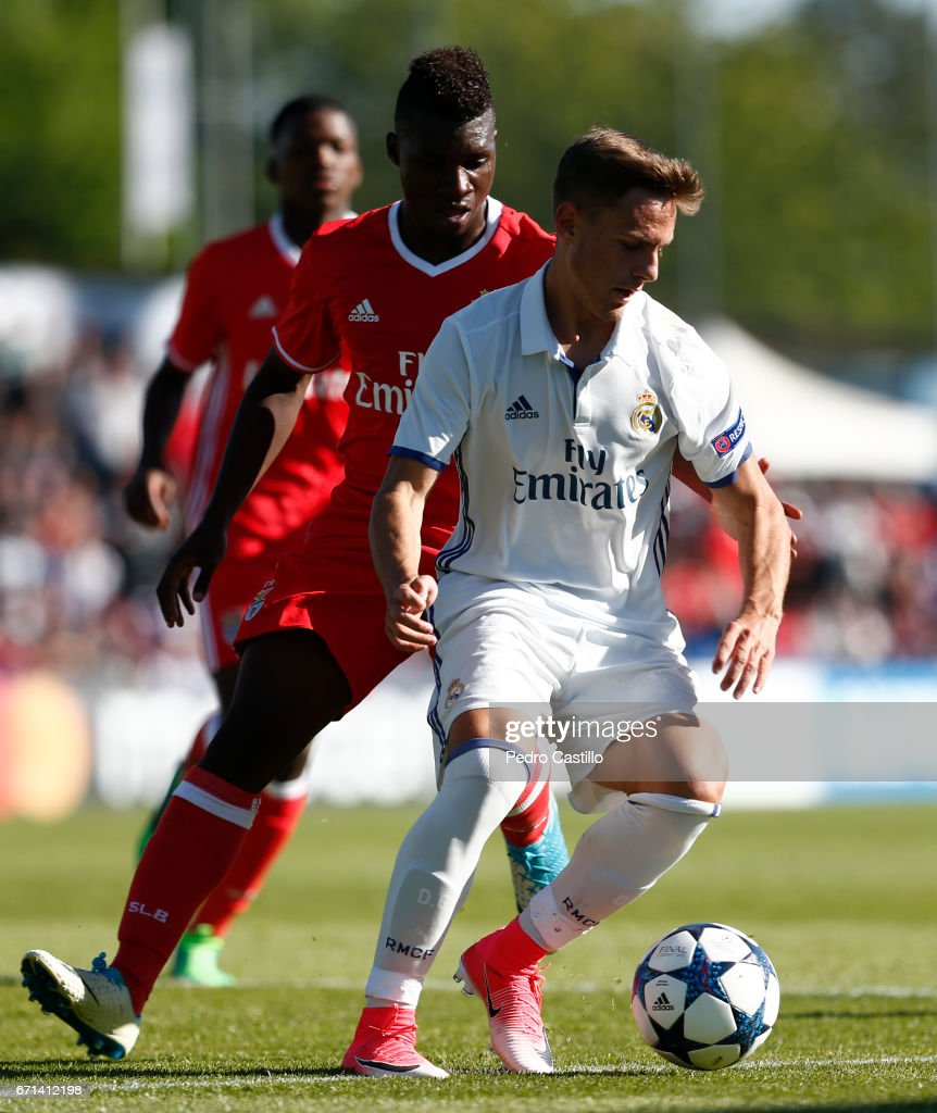 Real Madrid CF - Benfica: Uefa Youth League Final Four : News Photo