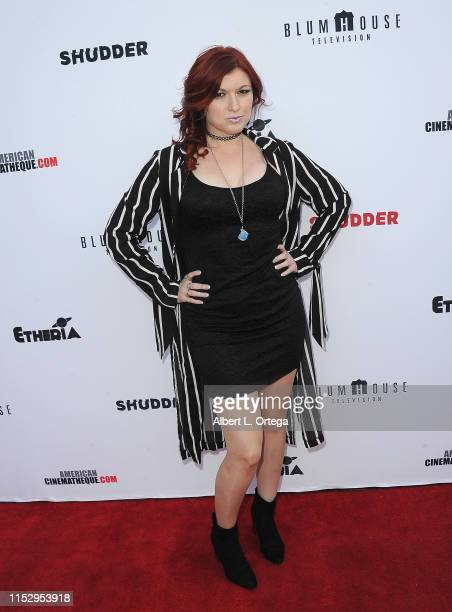 Dani Inks attends the 6th Annual Etheria Film Showcase held at American Cinematheque's Egyptian Theatre on June 29 2019 in Hollywood California