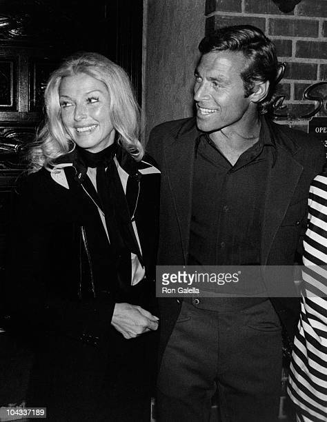 Dani Jansen and actor James Franciscus sighted on April 30 1977 at La Scala Restaurant in Beverly Hills California