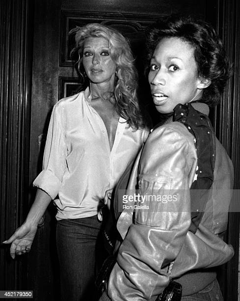 Dani Janssen and Altovise Davis sighted on February 12 1981 at La Scala Restaurant in Beverly Hills California