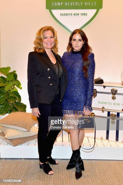 Dani Lancer and Alexa Dell attends Barneys New York Hosts Celebration In Support Of Heart Of Los Angeles at Barneys New York Beverly Hills on October...