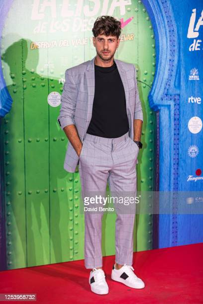 Dani Luque attends 'La Lista de Los Deseos' Madrid Premiere photocall at Callao City Lights cinema on July 2 2020 in Madrid Spain This is the first...