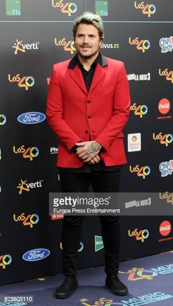 Dani Martin attends '40 Principales Awards' 2017 on November 10 2017 in Madrid Spain