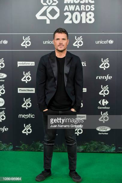 Dani Martin attends during 'LOS40 Music Awards' 2018 at WiZink Center on November 2 2018 in Madrid Spain