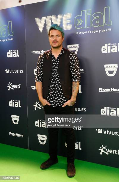 Dani Martin attends during the Vive Dial festival photocall on September 9 2017 in Madrid Spain