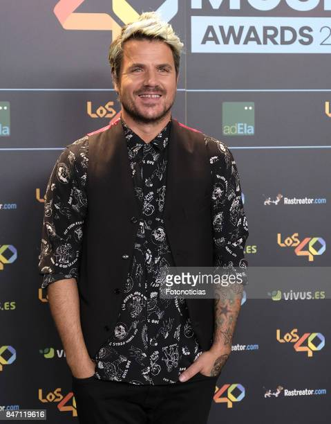 Dani Martin attends the 40 Principales Awards Nominated Dinner at the Florida Retiro on September 14 2017 in Madrid Spain