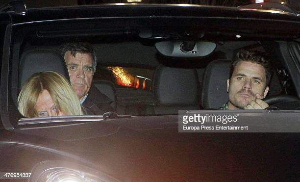 Dani Martin leaves his home on March 5 2014 in Madrid Spain