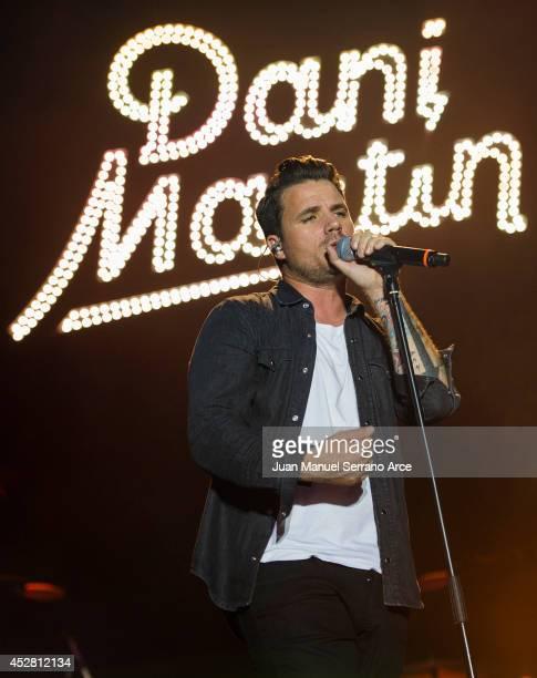 Dani Martin performs at Palacio Magdalena on July 27 2014 in Santander Spain