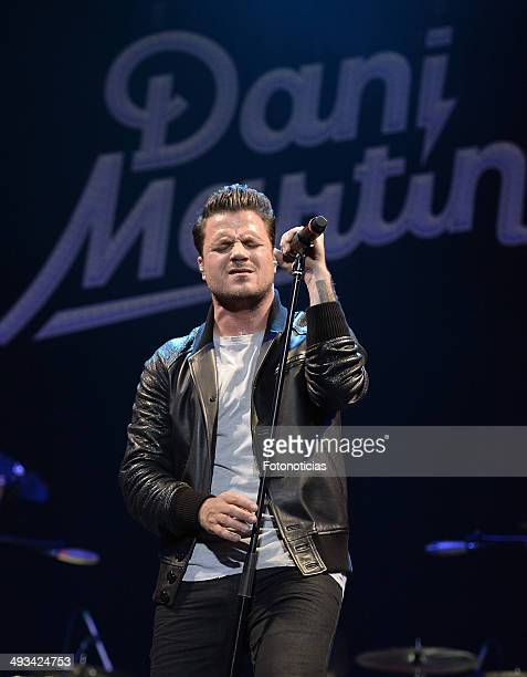 Dani Martin performs at the Palacio de Deportes on May 23 2014 in Madrid Spain
