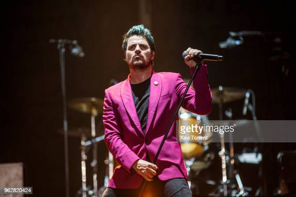 Dani Martin performs in concert at Palau Sant Jordi on May 26 2018 in Barcelona Spain