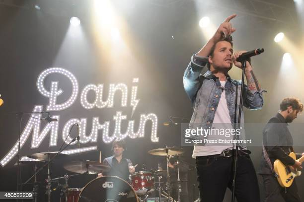 Dani Martin performs in the concert Basico 40 Opel Corsa at Circulo de Bellas Artes on November 18 2013 in Madrid Spain