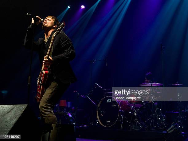 Dani Martin performs on stage at the Razzmatazz on November 25 2010 in Barcelona Spain