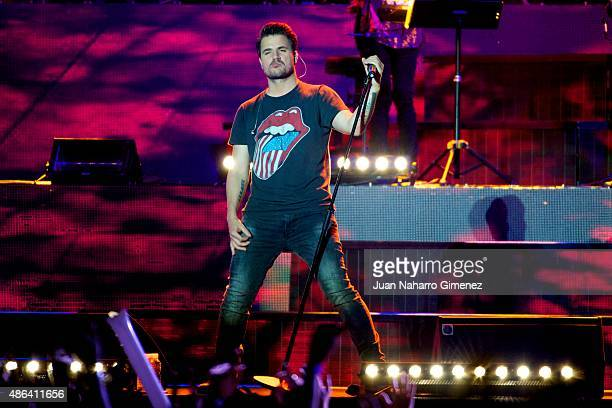 Dani Martin performs on stage during 'Cadena Dial' 25th Anniversary concert at Barclaycard Center on September 3 2015 in Madrid Spain