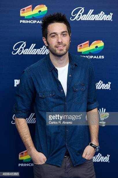 Dani Martinez attends the '40 Principales Awards' 2013 photocall at Palacio de los Deportes on December 12 2013 in Madrid Spain