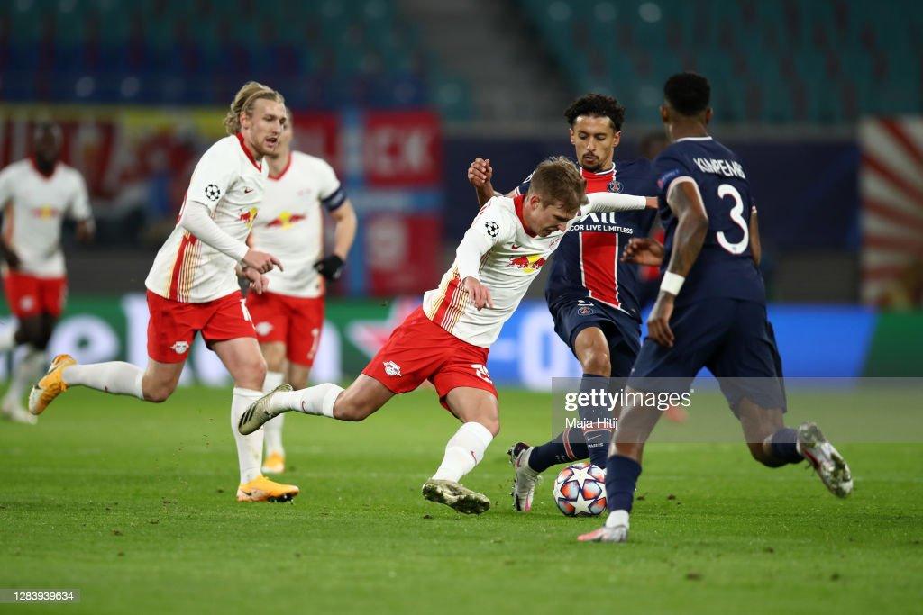 RB Leipzig v Paris Saint-Germain: Group H - UEFA Champions League : ニュース写真