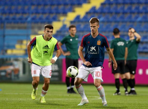 MNE: Montenegro v Spain Under 21s