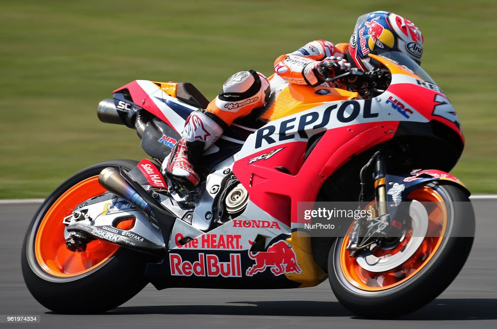 Dani Pedrosa (Honda) during the Moto GP test in the Barcelona Catalunya Circuit, on 23th May 2018 in Barcelona, Spain. --