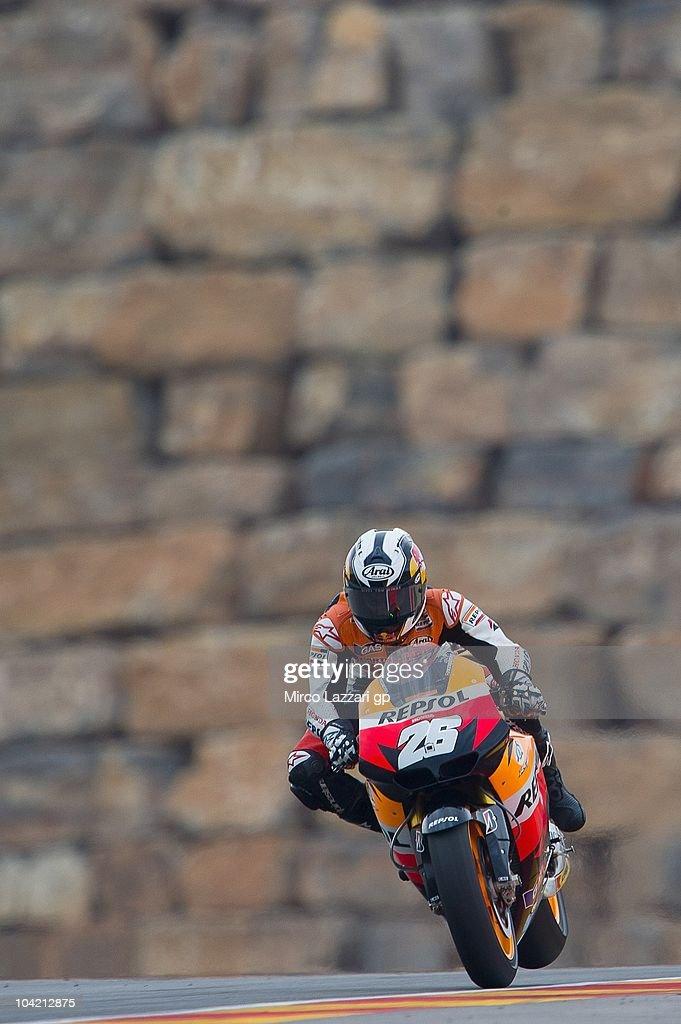 MotoGP of Aragon - Practice