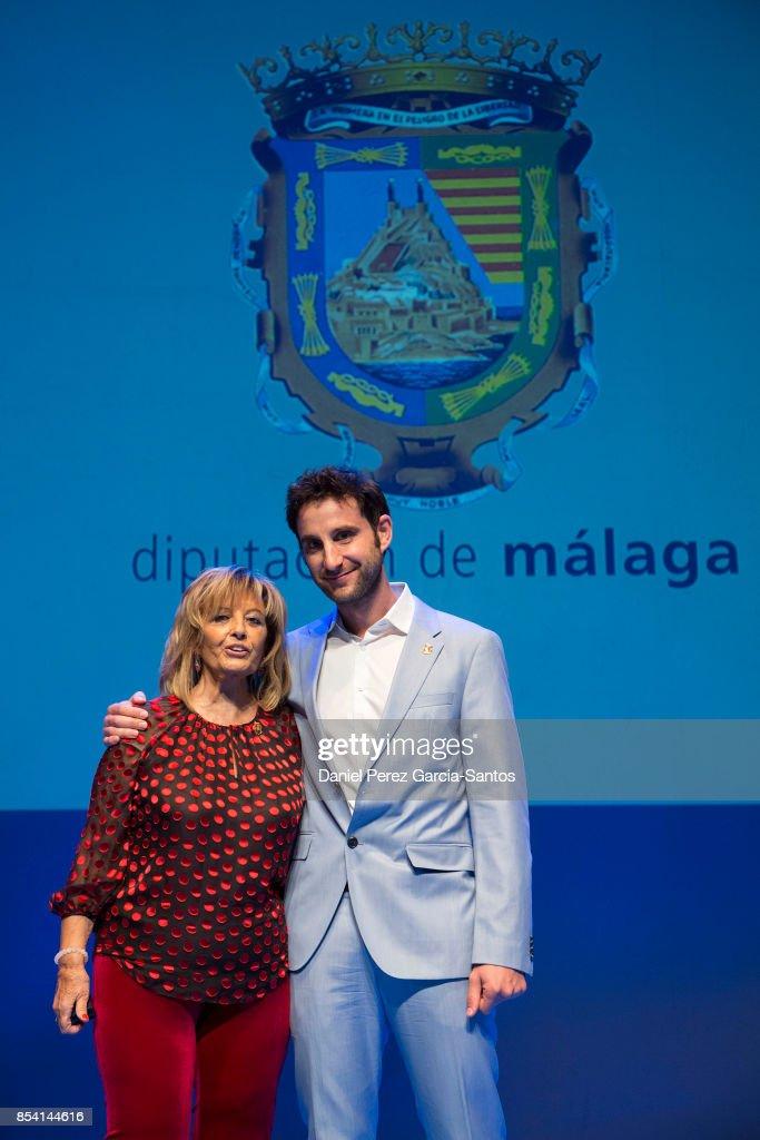 Dani Rovira And Maria Teresa Campos, Named Favorite And Adopted Sons Of Malaga
