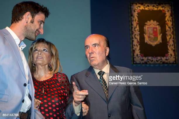 Dani Rovira Maria Teresa Campos and Gregorio Sanchez Fernandez 'Chiquito de la Calzada' attend the appointment of Dani Rovira and Maria Teresa Campos...