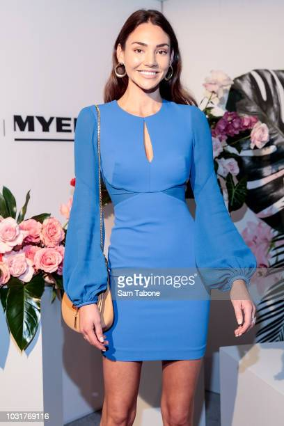 Dani Shreeve attends the 2018 Myer Spring Fashion Lunch at Flemington Racecourse on September 12 2018 in Melbourne Australia