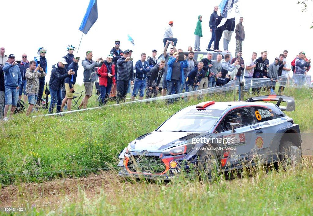 WRC Orlen 74 Rally Poland : News Photo