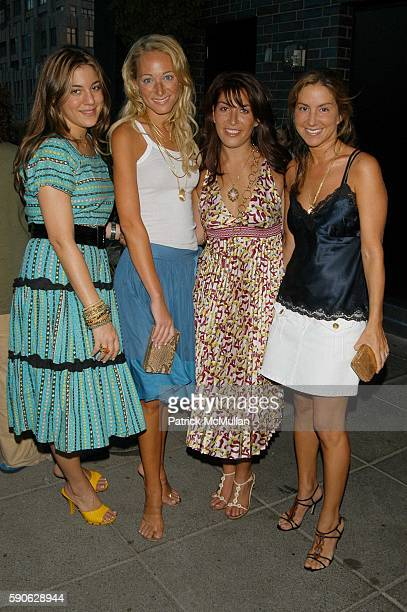 Dani Stahl Alex Kramer Jessica Meisels and Liz Cohen attend Lia Sophia 'it destination' Collection Hosted by Elena Kiam and Dani Stahl at 60 Thompson...
