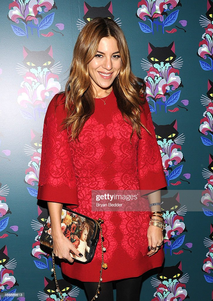 Dani Stahl attends Miu Miu Women's Tales 7th Edition - 'Spark & Light' Screening - Arrivals at Diamond Horseshoe on February 11, 2014 in New York City.
