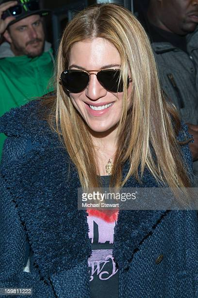 Dani Stahl attends Paige Hospitality Game Watch at Sky Bar on January 20 2013 in Park City Utah