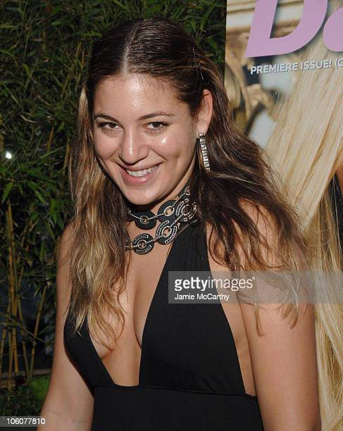 Dani Stahl during Fashion Fete To Celebrate The Launch of The Daily Mini at The Garden of Ono in New York City New York United States