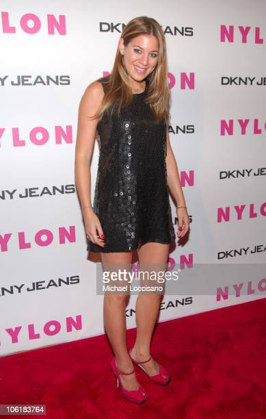 Dani Stahl during Lindsay Lohan Hosts Nylon Magazine's Young Hollywood Issue at Tenjune in New York City New York United States