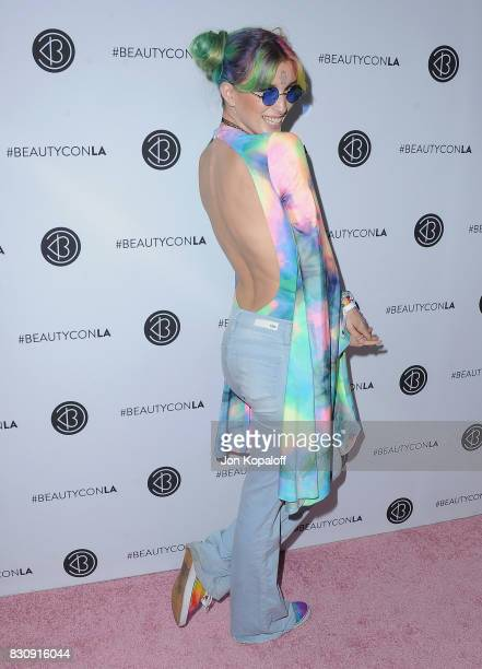 Dani Thorne arrives at the 5th Annual Beautycon Festival Los Angeles at Los Angeles Convention Center on August 12 2017 in Los Angeles California