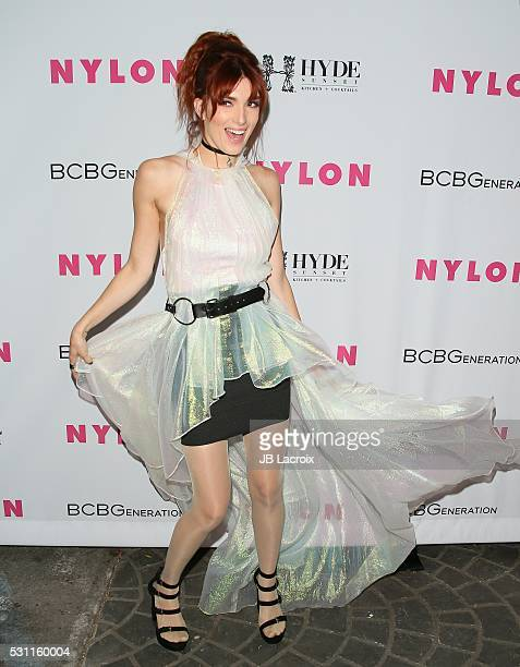 Dani Thorne attends the NYLON and BCBGeneration's Annual Young Hollywood May Issue Event on May 12 2016 in West Hollywood California