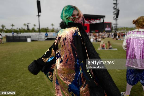 Dani Thorne during day 3 of the 2018 Coachella Valley Music & Arts Festival Weekend 1 on April 15, 2018 in Indio, California.